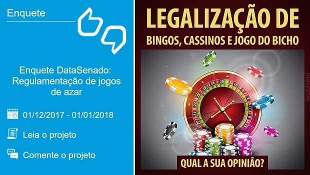 DataSenado Asks Brazilian Population About Gaming Legalization