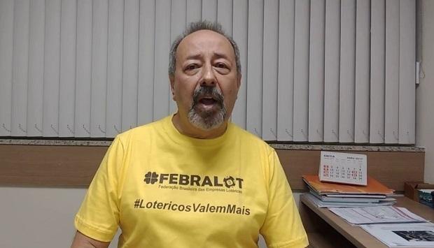 Resultado de imagem para imagens presidente da Federação Brasileira das Empresas Lotéricas (Febralot), Jodismar Amaro