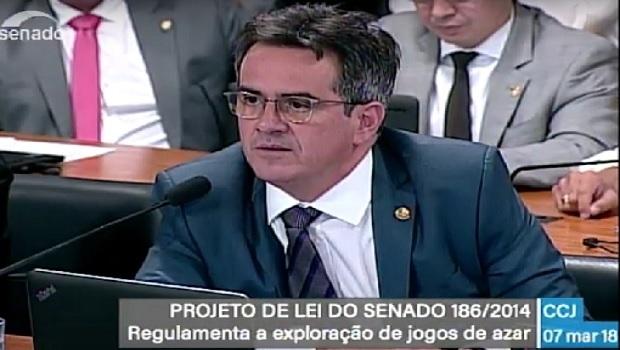 CCJ do Senado rejeita projeto que trata de jogos de azar