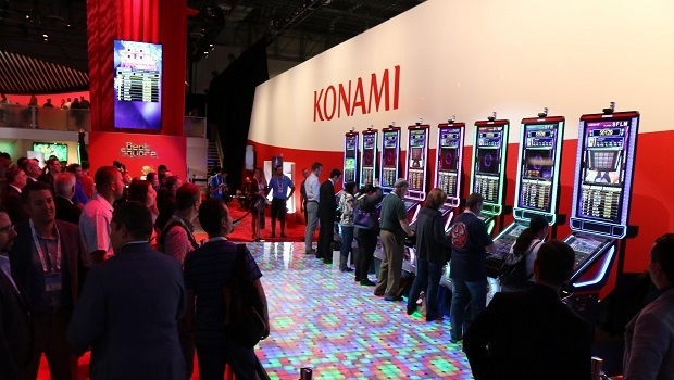 Konami's skill-based game title generates interest at G2E 2017
