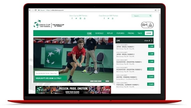 ITF and Sportradar launches new live streaming platform