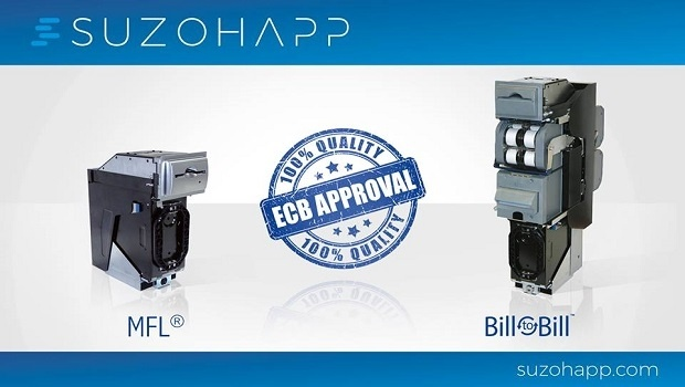 SuzoHapp receives product approvals from the European Central Bank