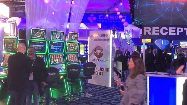 Casino Technology presents EZ MODULO slots at ICE