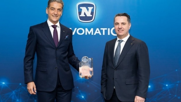 "Novomatic recognized as ""Casino Supplier of the Year"""
