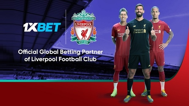 After signing with Barcelona, 1XBET becomes now sponsor of Liverpool