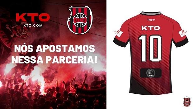 Nhà cái KTO công bố tài trợ Brasil de Pelotas
