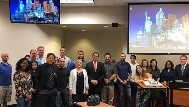Brazil's Tourism Commission deputies visit Las Vegas to learn more about casinos
