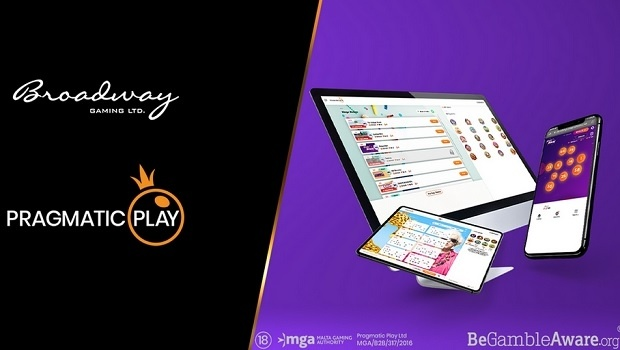 Pragmatic Play goes live with Broadway Gaming after landmark bingo deal