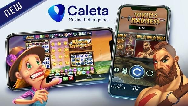 Brazilian Caleta Gaming scores Bingo Tornado and Viking Madness this week