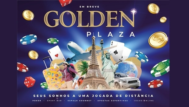 New space for poker, sport betting and bar Golden Plaza Eventos to open in Belém