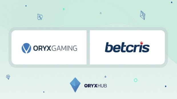 ORYX Gaming delivers virtual sports, live dealer and casino content to Betcris