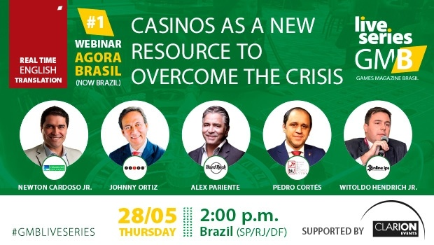 Games Magazine Brasil incorporates simultaneous translation to its webinar on casinos