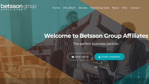 Betsson Group Affiliates relaunches its website