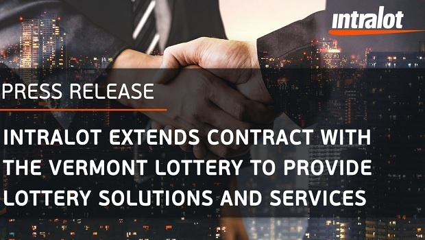 Intralot extends contract with the Vermont Lottery in the U.S. market