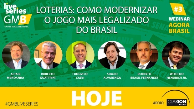 "GMB holds today its webinar ""Lotteries: How to modernize the most legalized game in Brazil"""