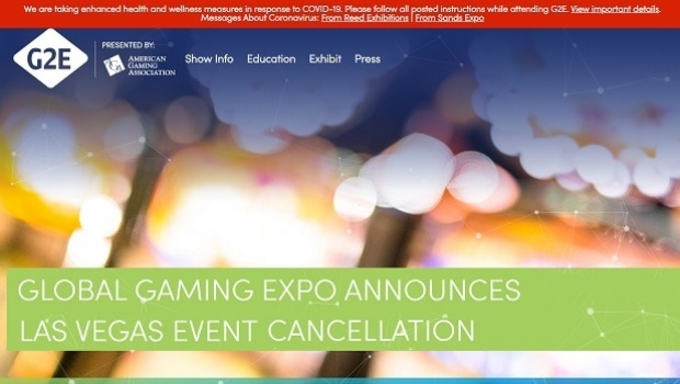 Global Gaming Expo announces Las Vegas event cancellation