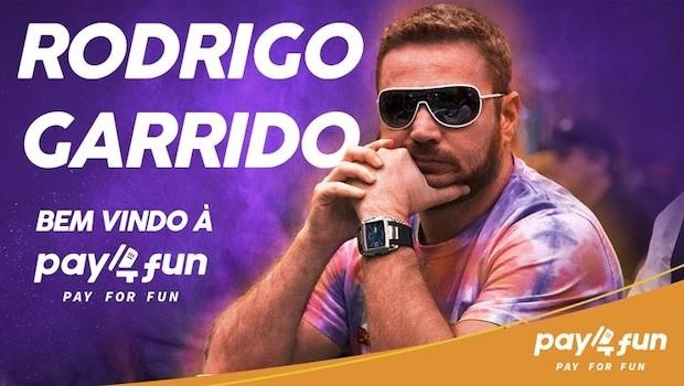 Brazilian poker champion Rodrigo Garrido joins Pay4Fun team