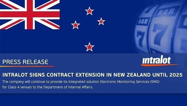 Intralot signs contract extension in New Zealand until 2025