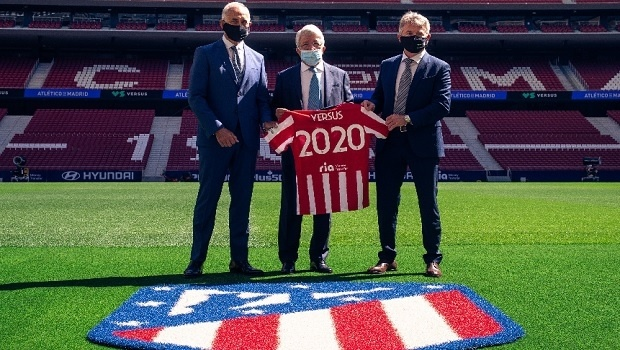 Sports betting brand VERSUS becomes new official sponsor of Atletico Madrid