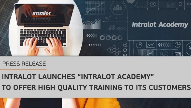 "Intralot launches ""Academy"" to offer high quality training to its customers"