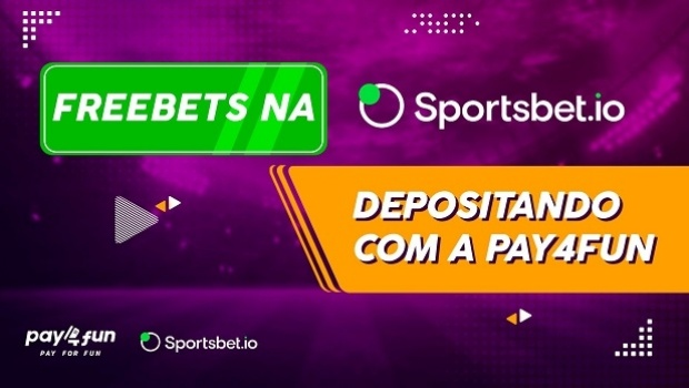 Pay4Fun and Sportsbet.io give bonuses on freebets in new brand action