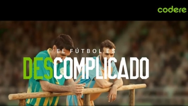 "Codere launched new international campaign ""Football is uncomplicated"""