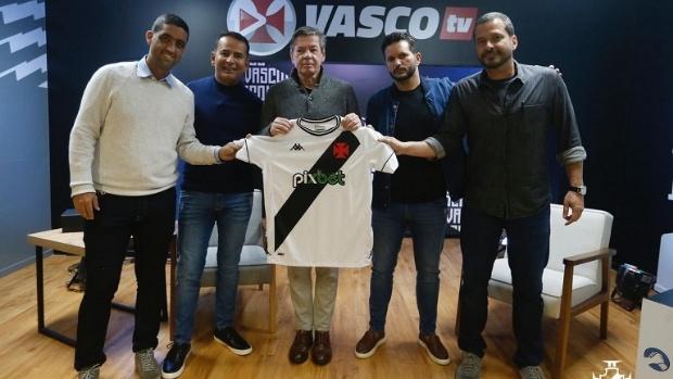 Vasco fecha patrocínio máster com casa de apostas PixBet
